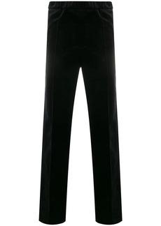 Helmut Lang slip-on straight-leg trousers