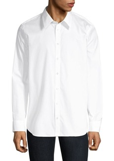 Helmut Lang Solid Button-Down Shirt