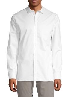 Helmut Lang Solid Cotton Sport Shirt