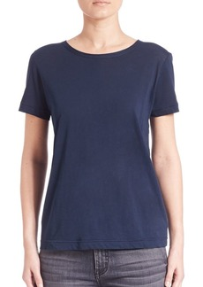 Helmut Lang Solid Short Sleeve T-Shirt