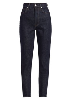Helmut Lang Spike High-Waisted Jeans