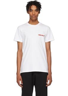 Helmut Lang SSENSE Exclusive White Brian Roettinger Logo Hack T-Shirt