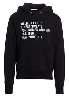 Helmut Lang Standard Brand Hoodie