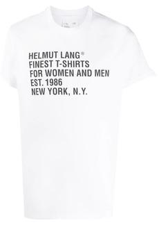 Helmut Lang Standard relaxed-fit cotton T-shirt