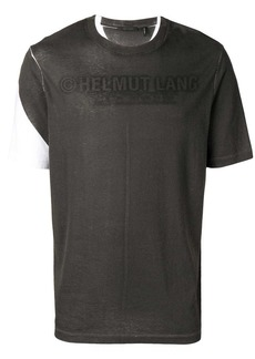 Helmut Lang stencil logo T-shirt