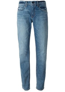 Helmut Lang stone washed boyfriend jeans