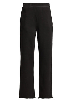 Helmut Lang Straight Cotton Joggers