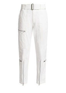 Helmut Lang Straight-Leg Utility Flight Pants