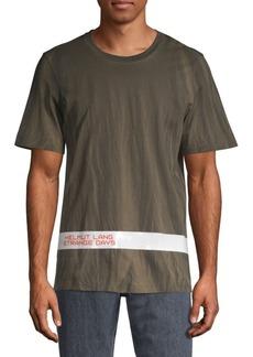 Helmut Lang Strange Days Logo Tape T-Shirt