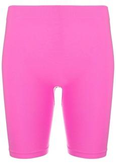 Helmut Lang stretch cycling shorts