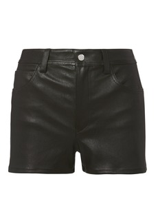 Helmut Lang Stretch Leather Shorts