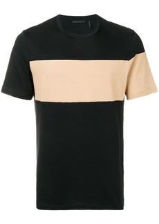Helmut Lang stripe block T-shirt