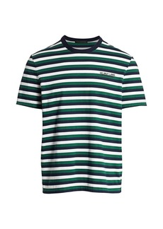 Helmut Lang Stripe Crew T-Shirt