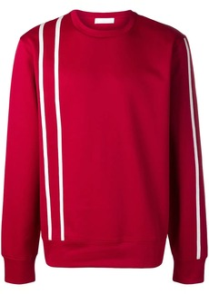 Helmut Lang stripe sports sweatshirt