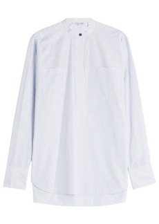 Helmut Lang Striped Cotton Blouse