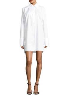 Helmut Lang Striped Oversized Shirtdress