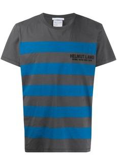 Helmut Lang striped pattern T-shirt