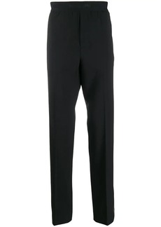 Helmut Lang striped tapered trousers