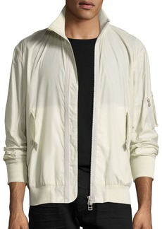 Helmut Lang Translucent Tech Bomber Jacket