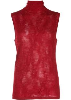 Helmut Lang turtleneck knitted top