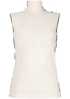 Helmut Lang turtleneck tank top