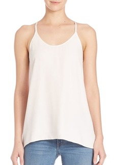 Helmut Lang Twill Scarf Tank Top