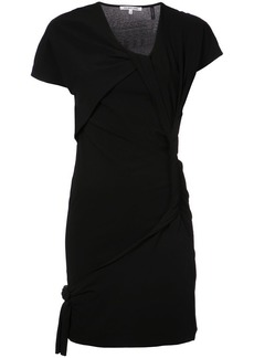 Helmut Lang twist detail dress