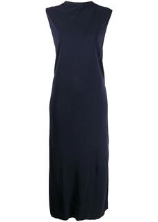 Helmut Lang twist-detail sleeveless dress