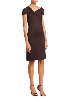Helmut Lang Twist Rib Dress
