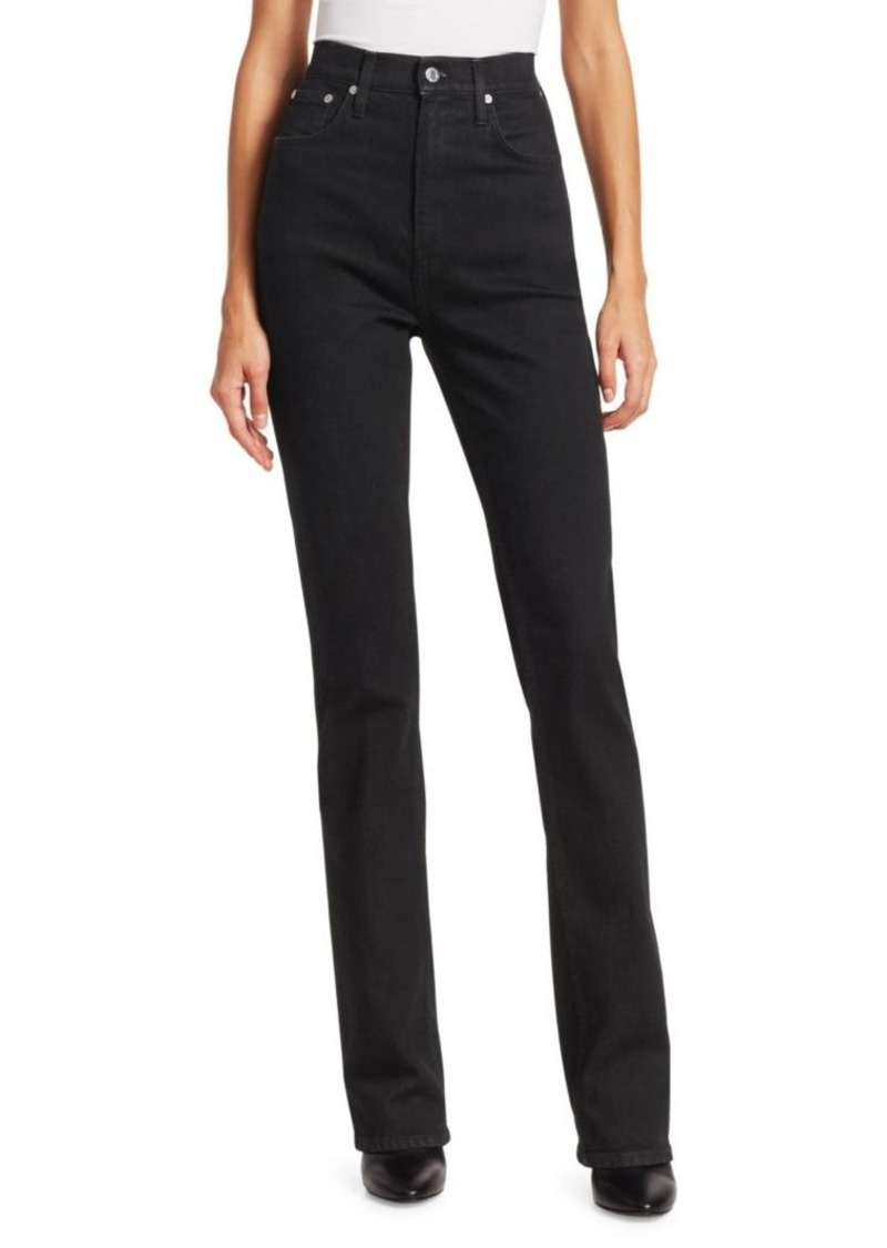 Helmut Lang Under Construction Femme High-Rise Bootcut Jeans