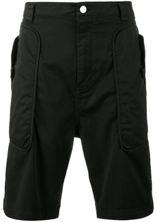 Helmut Lang utility panelled shorts