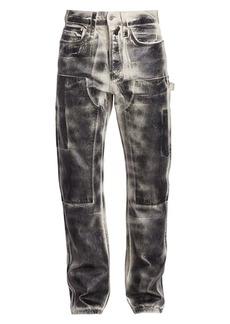 Helmut Lang Utility Washed Straight Leg Jeans
