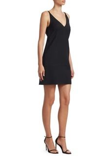 Helmut Lang V-Back Mini Dress