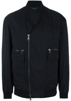 Helmut Lang V-neck bomber jacket