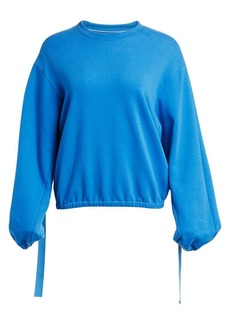 Helmut Lang Vintage Terry Cotton Sweatshirt