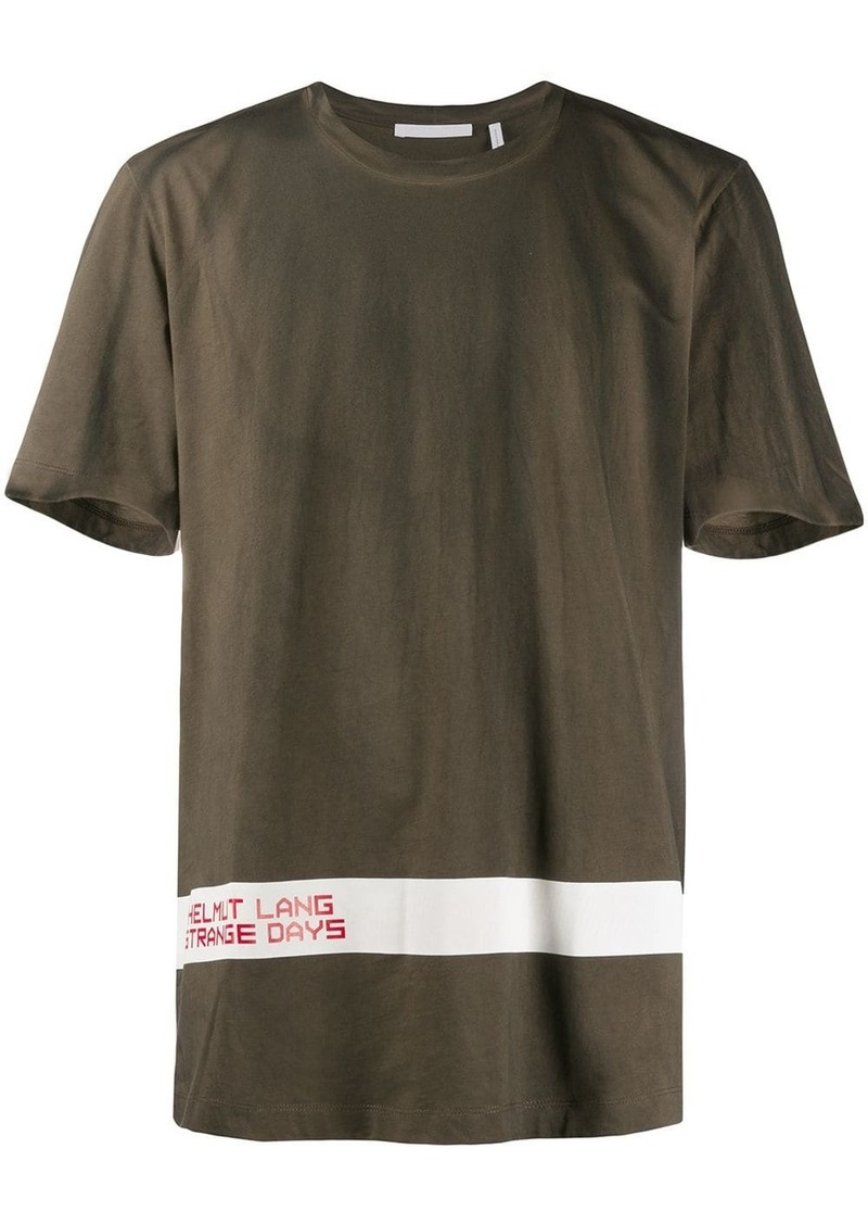 Helmut Lang weathered T-shirt