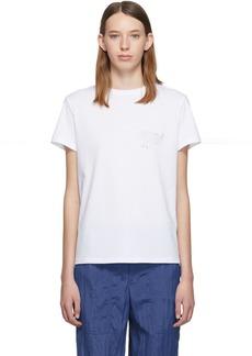 Helmut Lang White 'Helmut Laws' T-Shirt