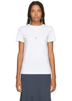 Helmut Lang White Paris Edition Taxi T-Shirt