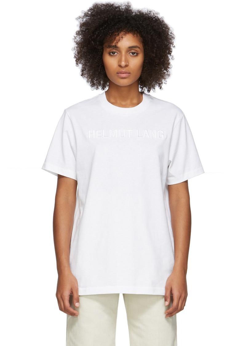 Helmut Lang White Standard T-Shirt