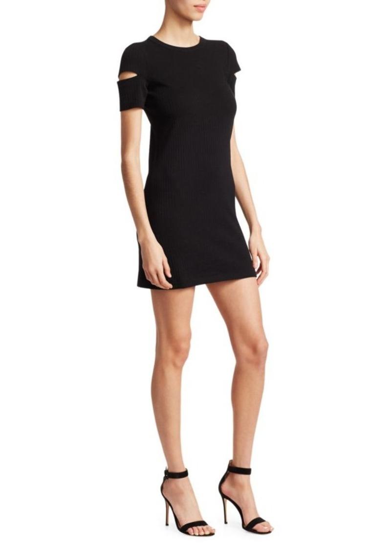 Helmut Lang Wide-Rib Stretch Dress