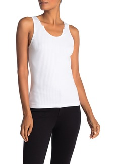 Helmut Lang Wide Ribbed Knit Tank