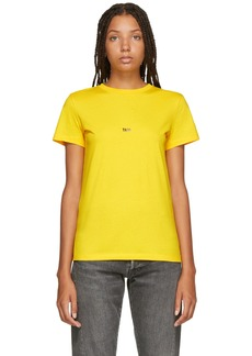 Helmut Lang Yellow New York Edition Taxi T-Shirt