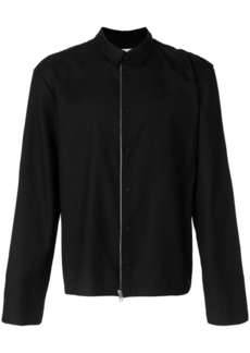 Helmut Lang zip and button front jacket