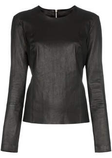 Helmut Lang zip-back top