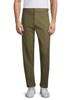 Helmut Lang Zip Hem Cotton Pants