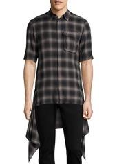 Helmut Lang Zip Paneled Shirt