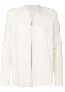 Helmut Lang zip-up shirt
