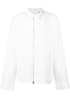 Helmut Lang zip up shirt
