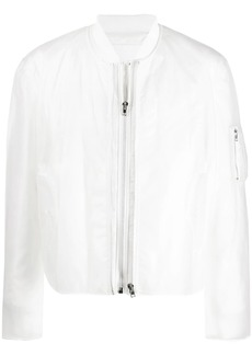 Helmut Lang zipped bomber jacket
