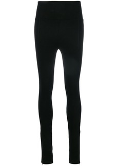 Helmut Lang zipped cuff leggings